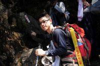 21到達前峰登山口,開始往上爬~