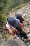 24石瀑區400米,陡上
